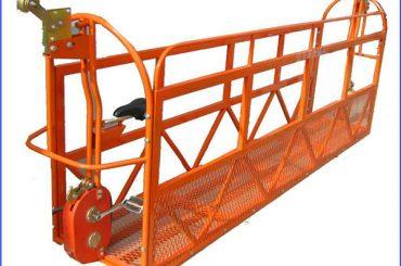 1000 kg 7,5 mx 3 secties aluminium geschorst werkplatform zlp1000