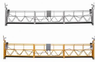 Hete verkoop Alumimum legering opgehangen platform / hangende gondel / zwevende wieg / zwevende zwaaifase met vorm E
