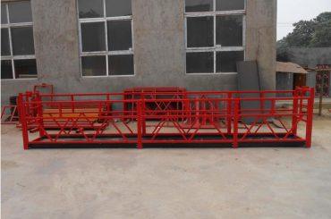 Handmatige elektrische hijs-basket-for-bouw-project