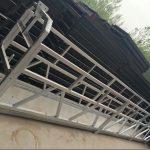 zlp630 / 800 ll vorm aluminiumlegering, stalen constructie opgehangen werkplatformlift op gebouwramen