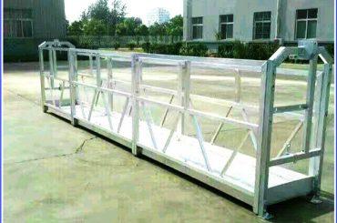heet gegalvaniseerd kabel opgeschort platform, hoge stijgings de bouw opgeschorte gondel
