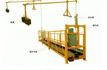 factory sale goede kwaliteit elektrische takel voor geschorst platform van directe fabrikant