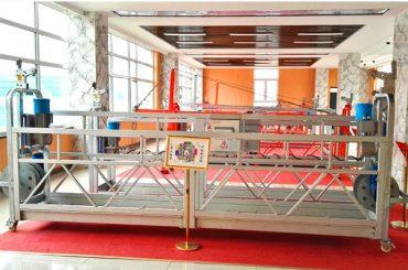 ZLP630 aluminium hangbrug (CE ISO GOST) / hoogbouw raamreinigingsapparatuur / tijdelijke gondel / cradle / swing stage hot