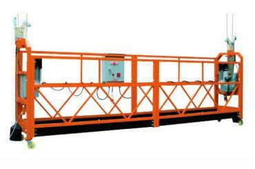 2,5 mx 3 secties 1000 kg opgehangen toegang platform hefsnelheid 8-10 m / min