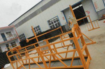 Betrouwbaar ZLP630 Painting Steel Suspended Working Platform For Building Construction (2)