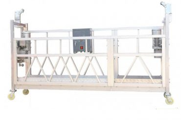 Staal Geschilderd Heet Gegalvaniseerd Aluminium ZLP630 Opgeschort Werkend Platform voor het Schilderen van de Voorgevels van de Bouw