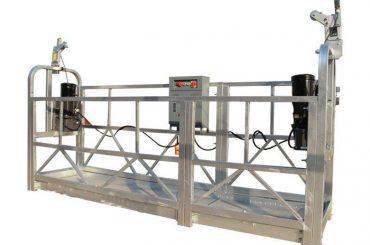 ce / iso-goedgekeurd zlp elektrische constructie / gebouw / buitenmuur hangend platform / wieg / gondel / draaipodium / luchtklimmer