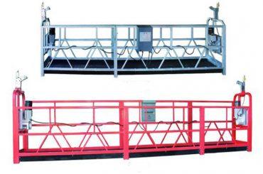 zlp 630 touw opgeschort platform luchtwerk swing stage steiger met kunststof spuitbus gespoten