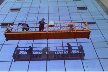 sterk bouwkabel hangend platform met 30kn veiligheidsslot zlp1000 2.2kw 2.5m * 3