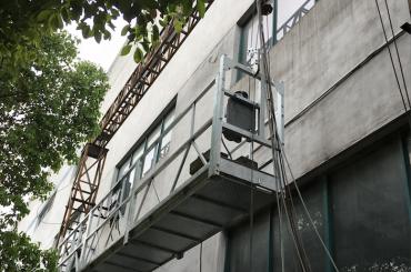 zlp1000 2.5m * 3 2.2kw 8kn hangende toegangs wiegen met elektrisch controlesysteem