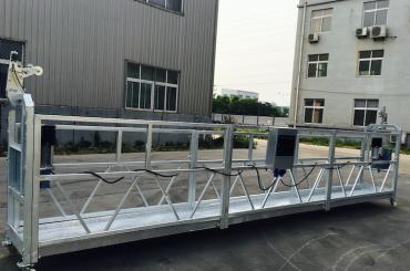 Verstelbare aluminium hangbrug platform zlp 800 voor opknappen / schilderen