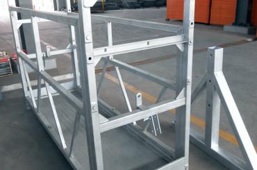 hoog veiligheidskabel opgehangen platformliften installatieplatform zlp630 zlp800 zlp1000