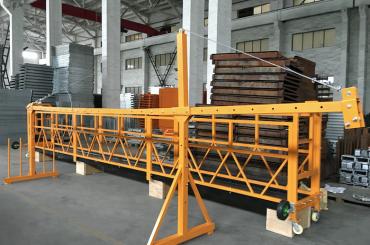 zlp 500 lp 630 tijdelijk opgehangen staaldraadplatform voor bouwen