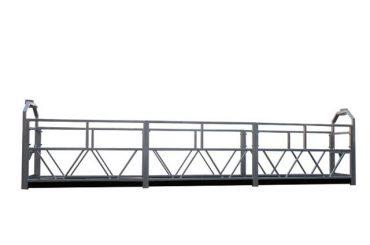 2 x 1.8 kw hangende steiger enkelfasige hangende platformwagen zlp800