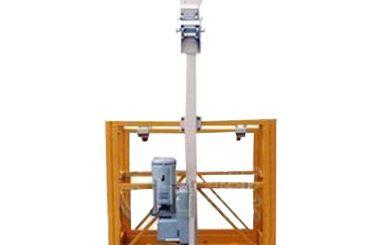 250kg enkelwerkende hangende werkplatform l strirrup met ltd6.3 takel