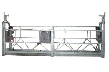 verplaatsbaar veiligheidskabel hangend platform zlp500 met nominaal vermogen 500kg