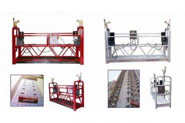kabel opknoping opgeschort toegang platform, zlp630 bouw lift gondel machine