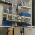aangedreven hangbrug / elektrisch steigerplatform te koop